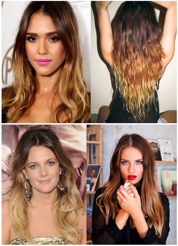 How to balayage your hair for What does ombre mean