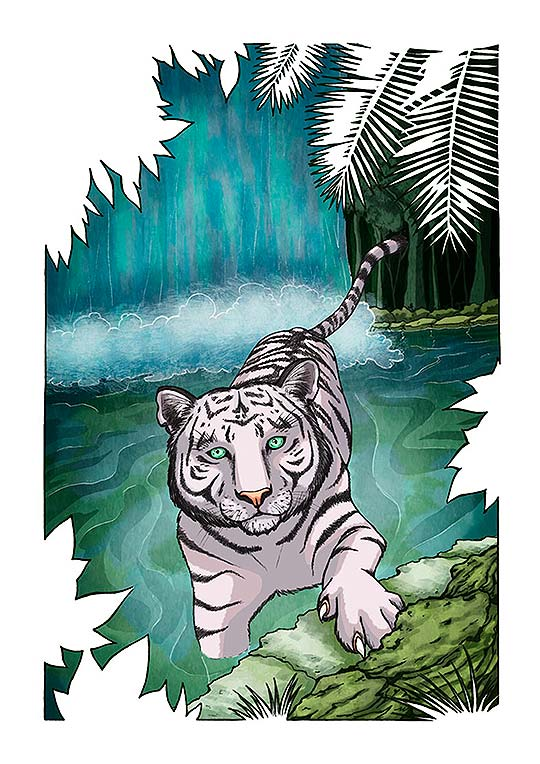 Ilustración de Cristina Aguilera