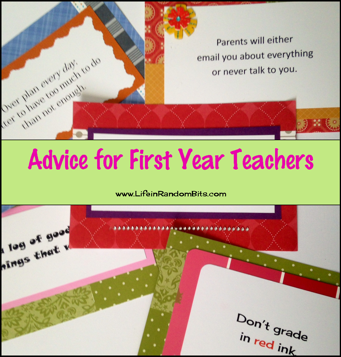 Advice for first year teachers #printable #quotes #teachers #inspiration