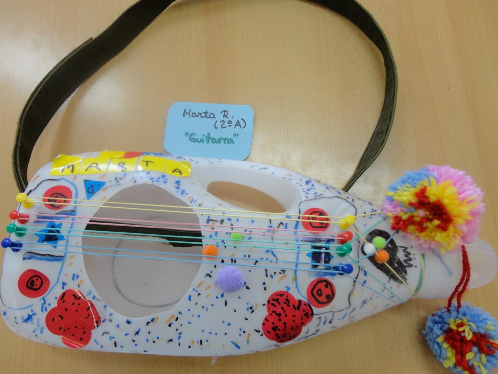 Como Hacer Instrumentos Musicales Con Material Reciclado