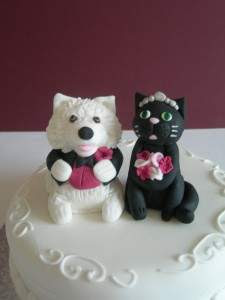 Animals Wedding Cake Toppers Idea