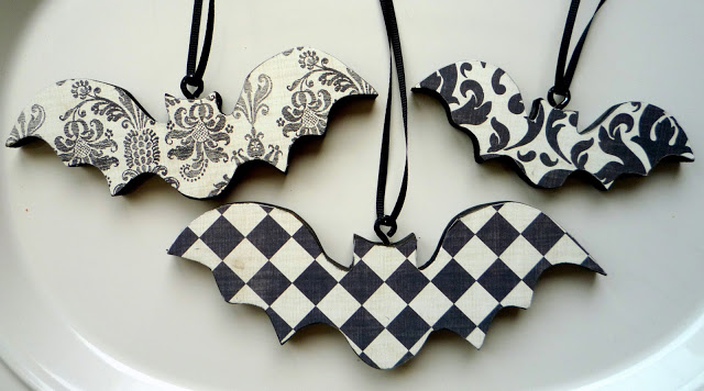 the mood to decorate a bigger christmas tree back home so without further ado here are a few ideas for making goth christmas ornaments by yourself - Gothic Christmas Decorations