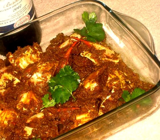 crab chettinad