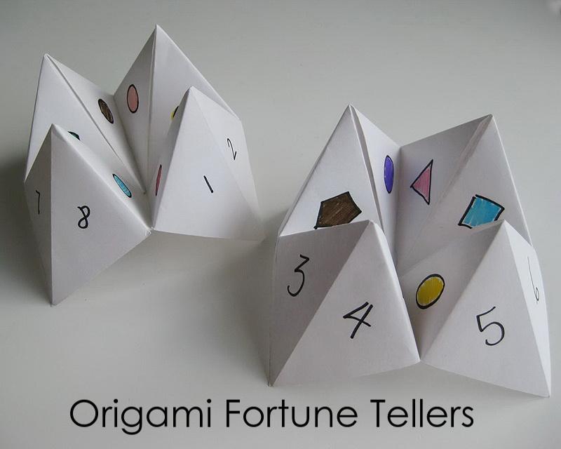 My Handmade Home Tutorial Origami Fortune Teller