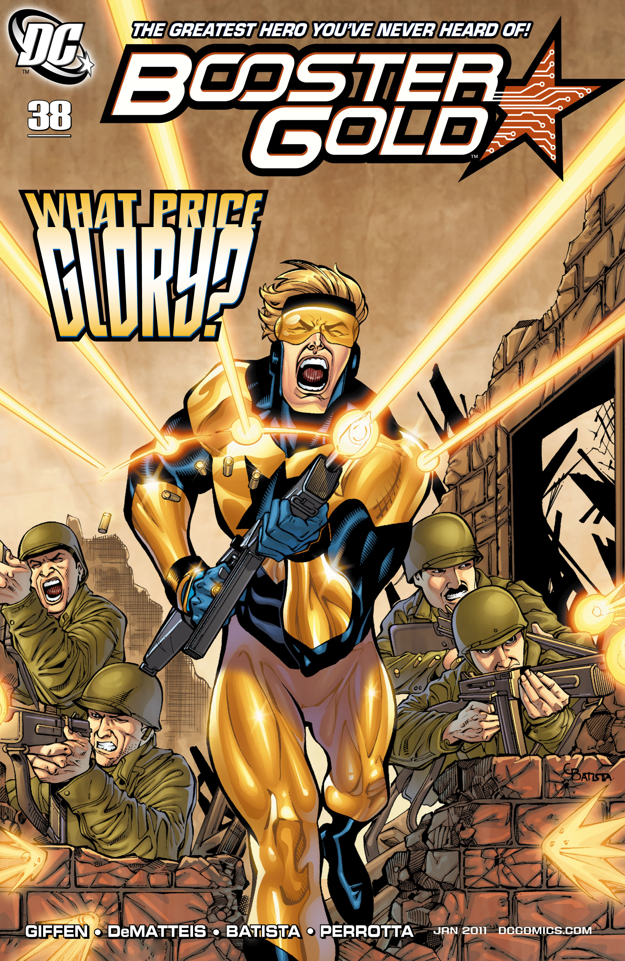 Booster Gold (2007) 38 Page 1