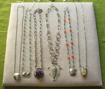 necklaces by Cicada Silver