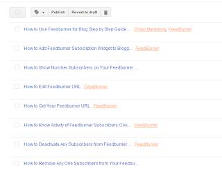 Edit Blog post on blogger, benefits of editing blog post