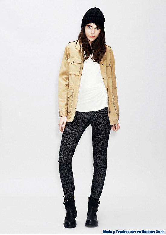 Cazadoras y leggings, looks urbanos moda otoño invierno 2015 Asterisco. Moda invierno 2015.