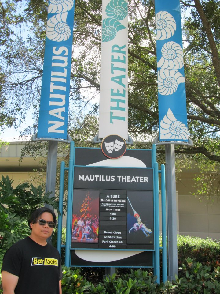 Seaworld Sea World Orlando Nautilus Theater