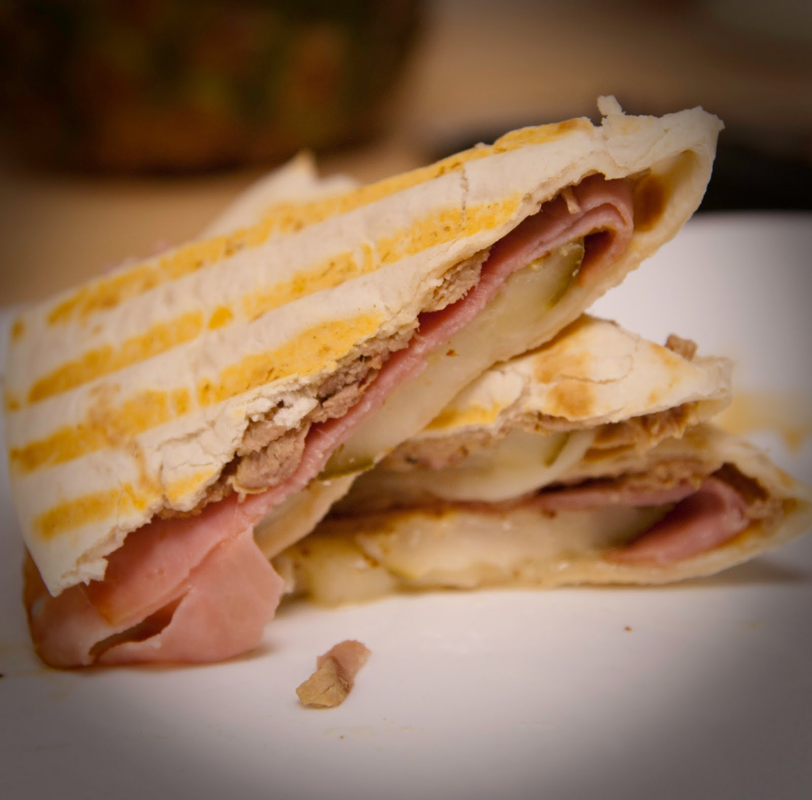 A Blog About Food: Cuban Sandwich Quesadillas