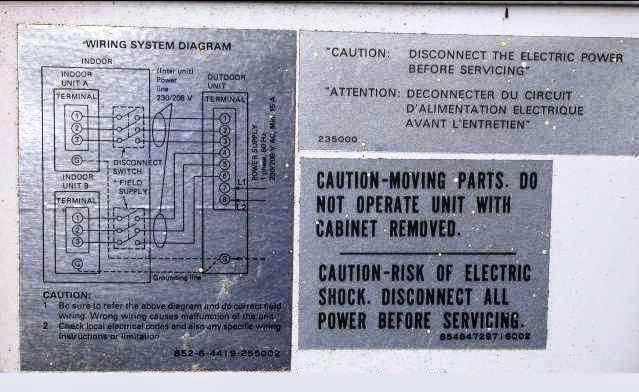 electrical wiring diagrams for air conditioning systems part one fig 2