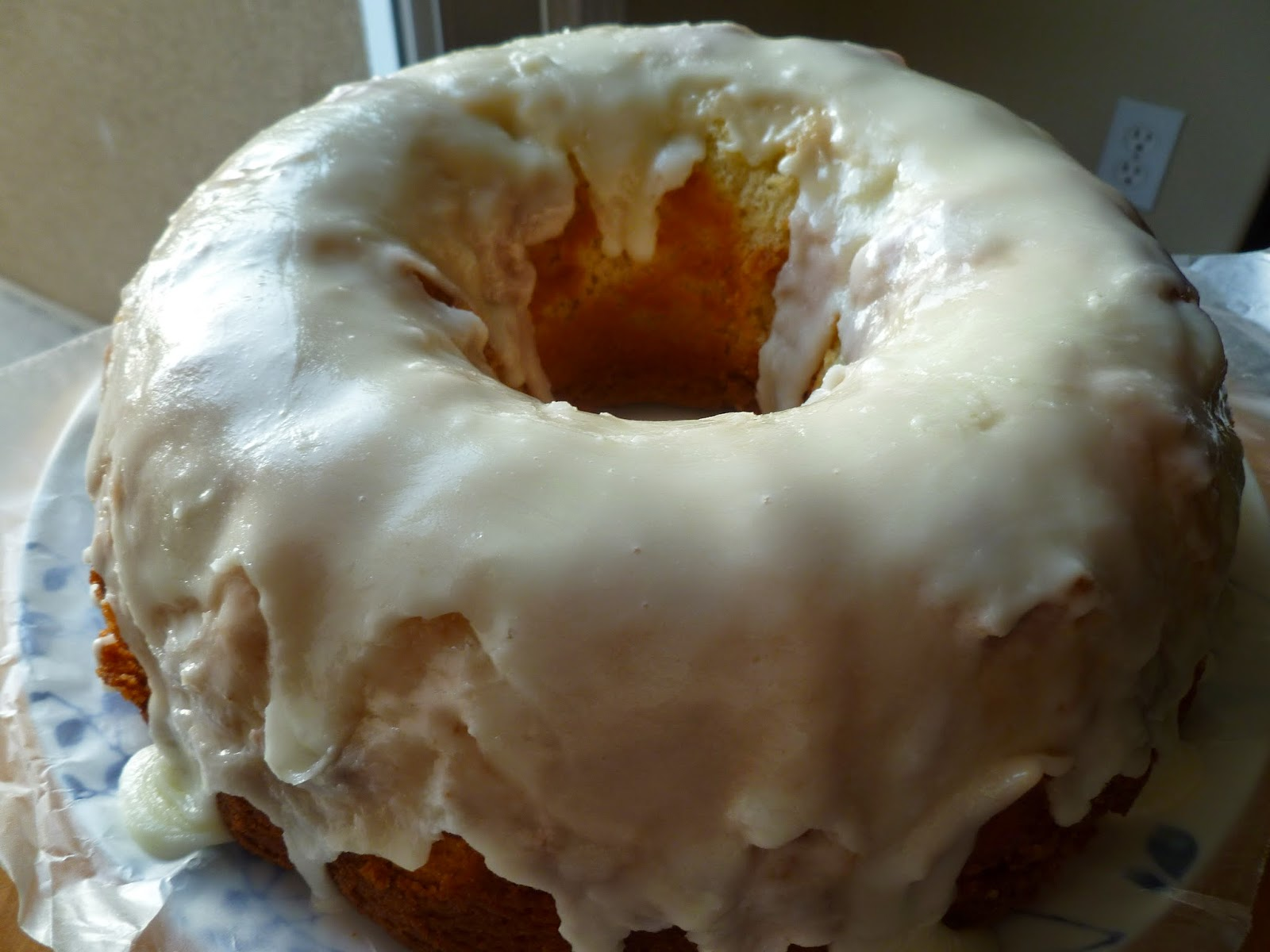Lemon Ginger Pound Cake