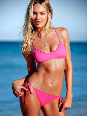 Candice Swanepoel hot sexy bikini model image