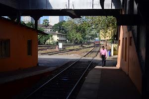 Первая поездка на поезде