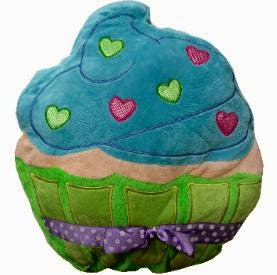 Plush Cupcake Pillow