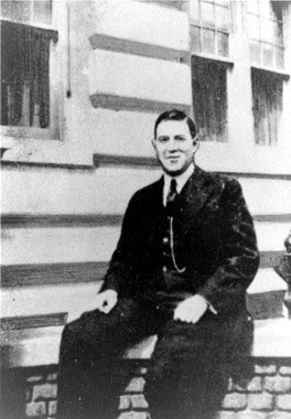 H.P. Lovecraft, New York, 1924, foto
