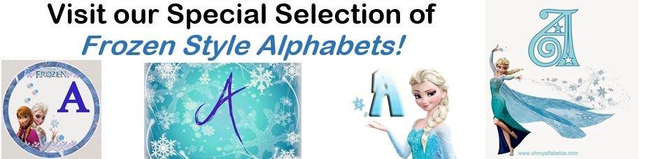 Frozen Alphabets