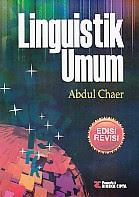 toko buku rahma: buku LINGUISTIK UMUM, pengarang abdul chaer, penerbit rineka cipta