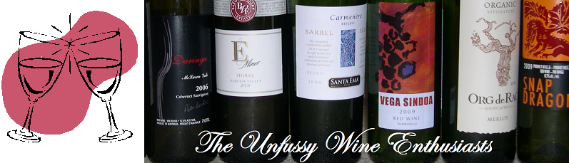 The Unfussy Wine Enthusiasts | Dartmouth, Nova Scotia Wine Blog