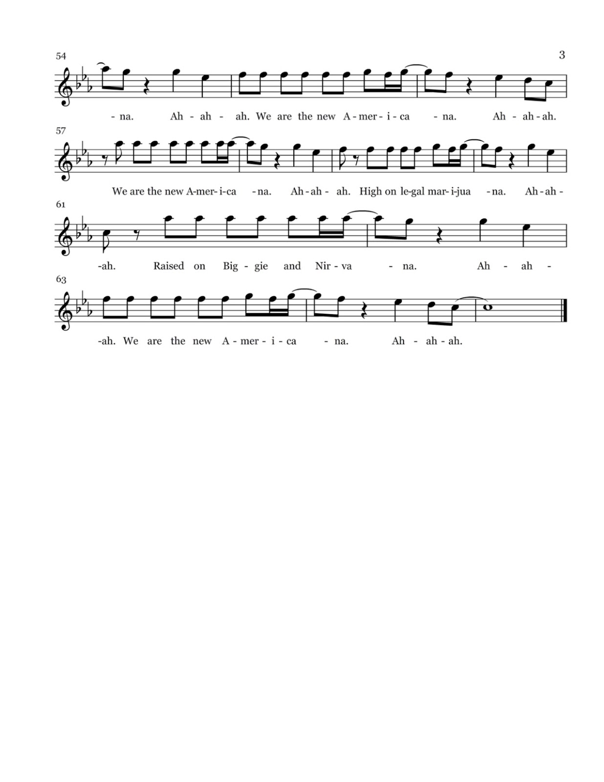 Flute sheet music new americana sheet music new americana sheet music hexwebz Gallery