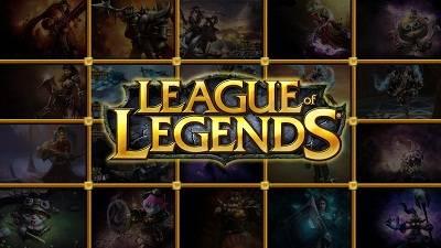 imagem jogo League of Legends logo