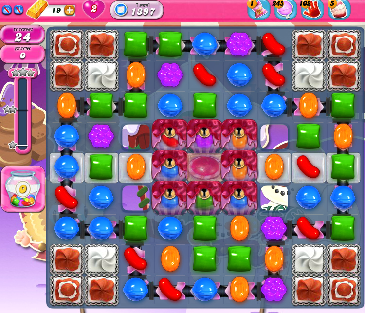 Candy Crush Saga 1397