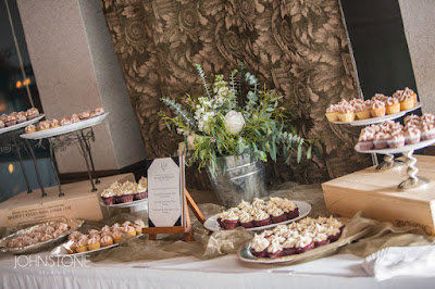 Wedding Cupcake Bar l Plumpjack Squaw Valley Wedding l Johnstone Studios l Take the Cake Event Planning