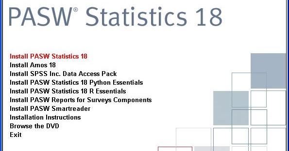 spss pasw statistics 18 crack