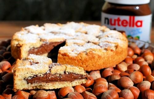 Crostata alla Nutella - Ricetta Semplice