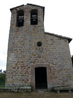 Façana nord de l'ermita