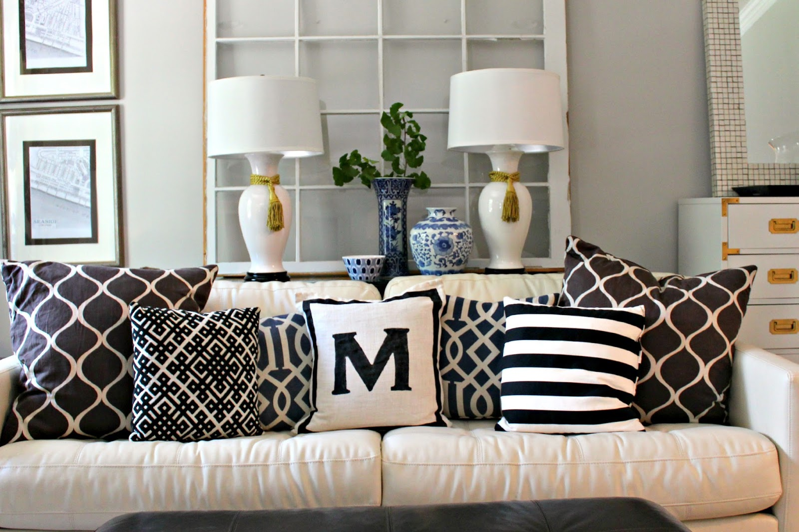when i set out to make this jonathan adler knock off initial pillow i thought i would like it but this is love yu0027all