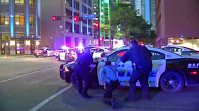 DALLAS POLICE SHOOTINGS, 5 OFFICERS DEAD.