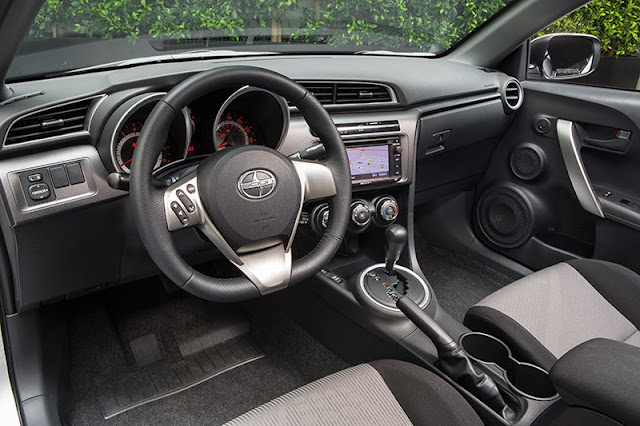 Interior view of 2014 Scion tC