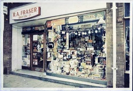 Remember Bob Frasers Elcectrical and Record shop?