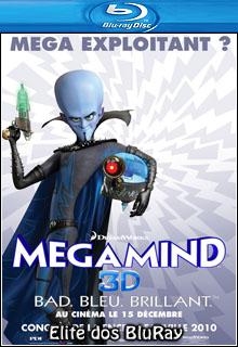 Megamente 3D BD R Full Multi Áudio Capa