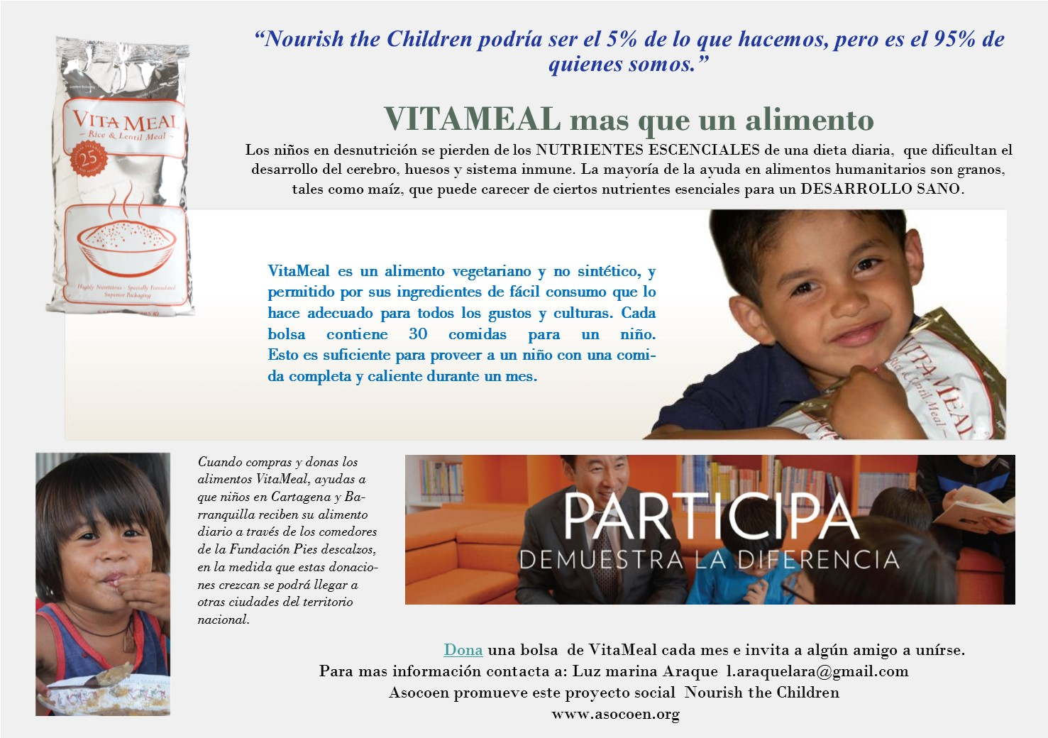 Proyecto Social Nourish the Children