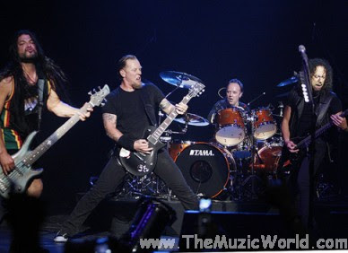 METALLICA Gonna Perform At F1 Rocks, Delhi