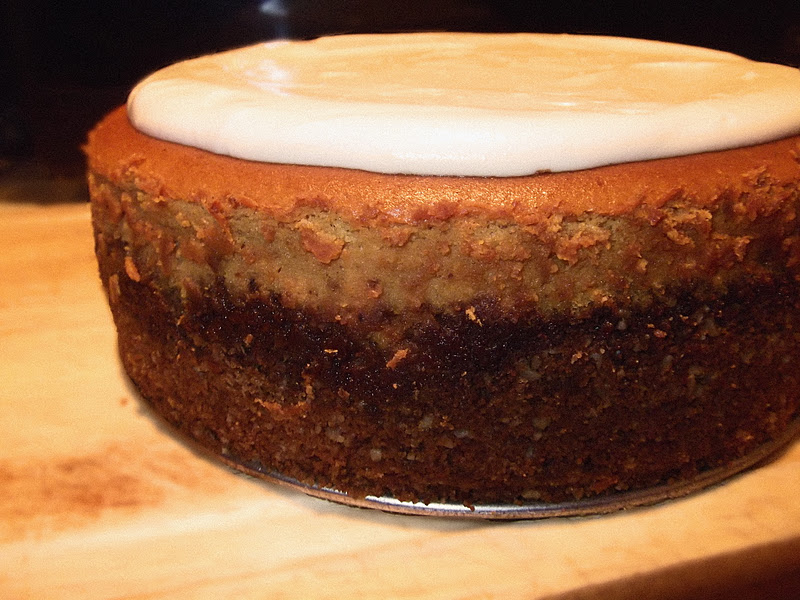 Pumpkin Cheesecake with Gingersnap Crust and Sour Cream Marshmallow ...