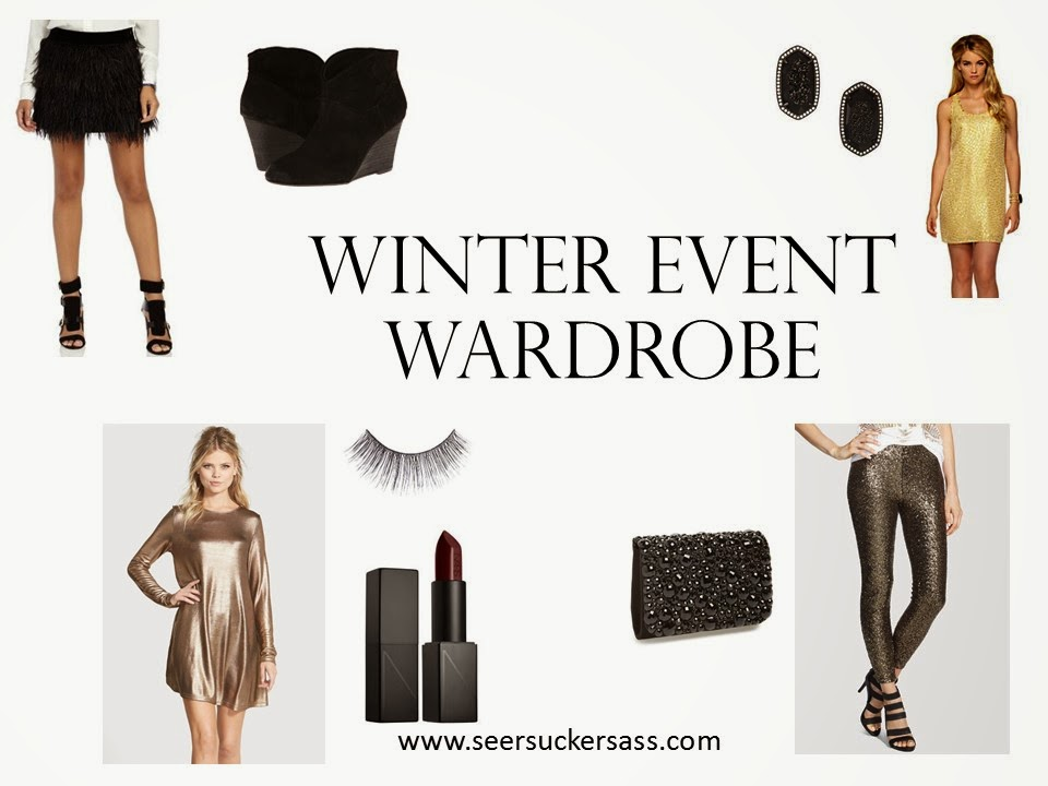Winter Event Wardrobe