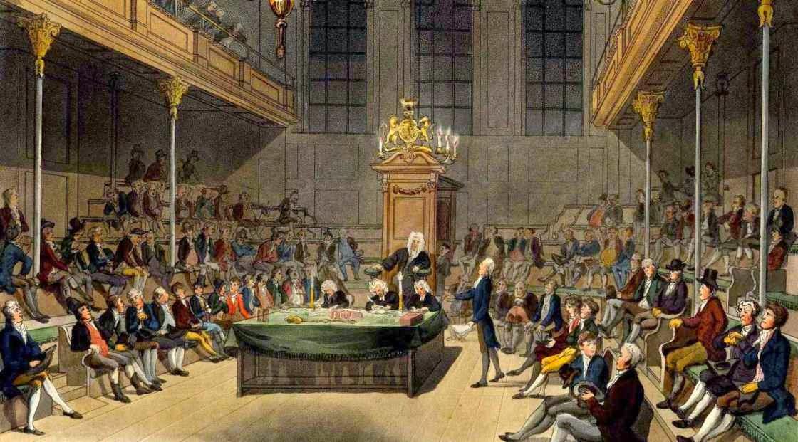 Camara de los Comunes del Parlamento britanico