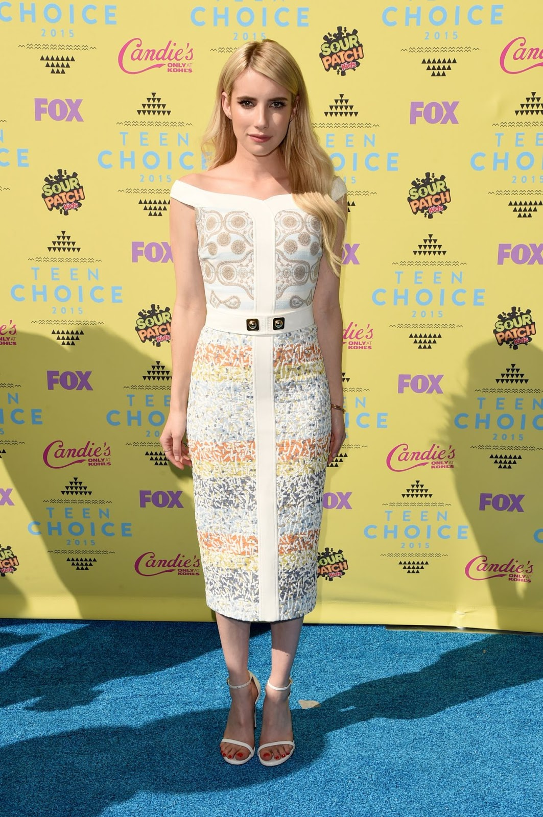 Emma Roberts – 2015 Teen Choice Awards in Los Angeles