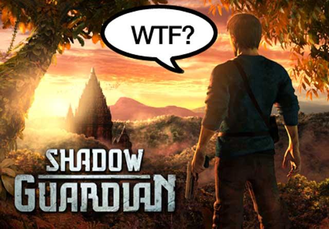 El protagonista de Shadow Guardian se pregunta qué está pasando.