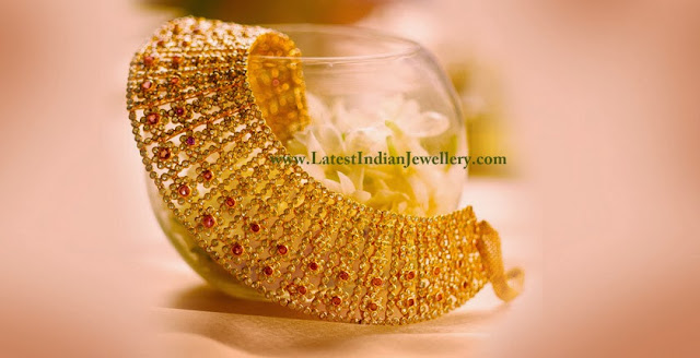Tanishq Uncut Diamond Bridal Necklace
