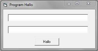 Membuat Program Hallo Dengan Visual Basic 6.0