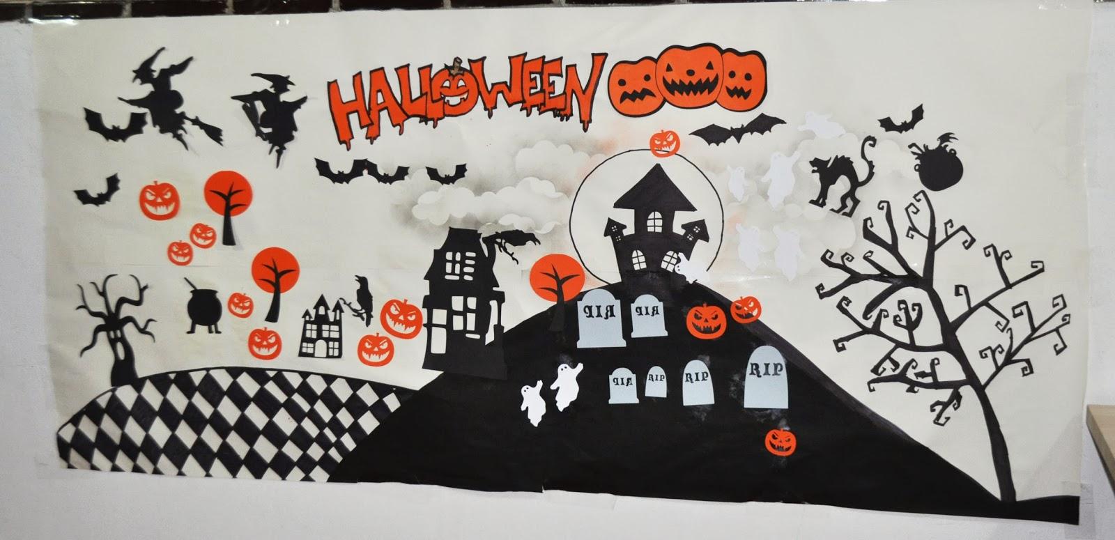 El caj n del scrap ideas juegos y decoraci n para preparar una fiesta infantil de halloween - Decoracion halloween infantil ...