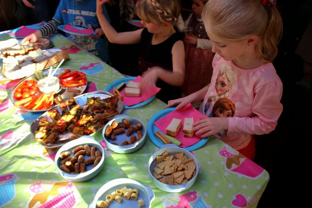 party food, birthday party, party season, family, todaymyway.com