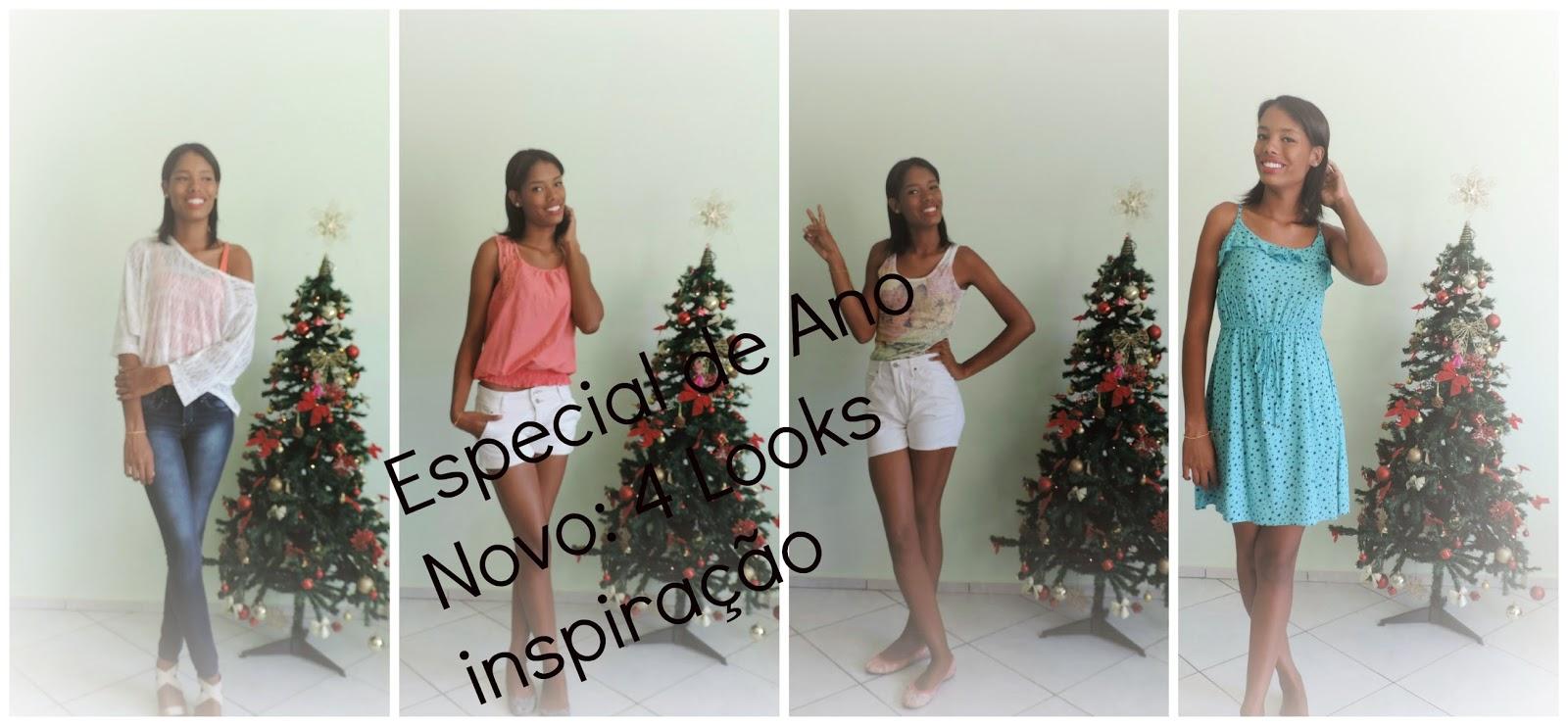Especial de Ano Novo: 4 Looks inspiração