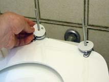 Rimuovere incrostazioni water