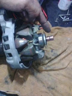 rotor do alternador