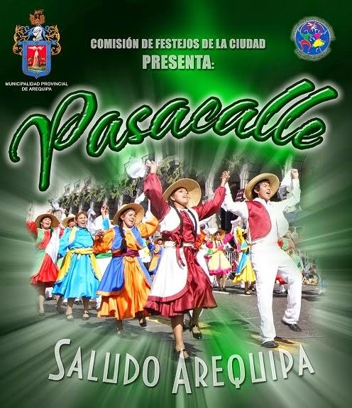 Pasacalle Saludo Arequipa - 10 de agosto